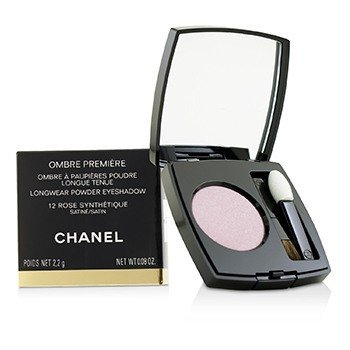 CHANEL OMBRE PREMIERE LONGWEAR POWDER EYESHADOW - # 12 ROSE SYNTHETIQUE (SATIN)  2.2G/0.08OZ