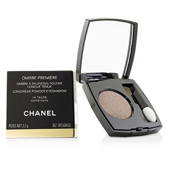 CHANEL OMBRE PREMIERE LONGWEAR POWDER EYESHADOW - # 14 TALPA (SATIN)  2.2G/0.08OZ