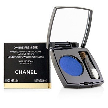 CHANEL OMBRE PREMIERE LONGWEAR POWDER EYESHADOW - # 16 BLUE JEAN (SATIN)  2.2G/0.08OZ