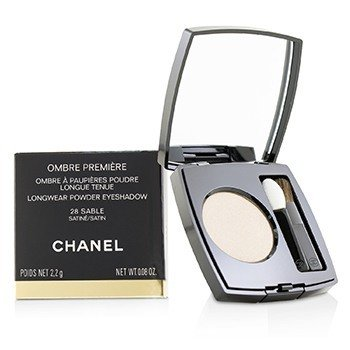 CHANEL OMBRE PREMIERE LONGWEAR POWDER EYESHADOW - # 28 SABLE (SATIN)  2.2G/0.08OZ
