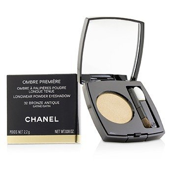 CHANEL OMBRE PREMIERE LONGWEAR POWDER EYESHADOW - # 32 BRONZE ANTIQUE (SATIN)  2.2G/0.08OZ