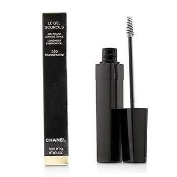 CHANEL LE GEL SOURCILS LONGWEAR EYEBROW GEL - # 350 TRANSPARENT  6G/0.21OZ