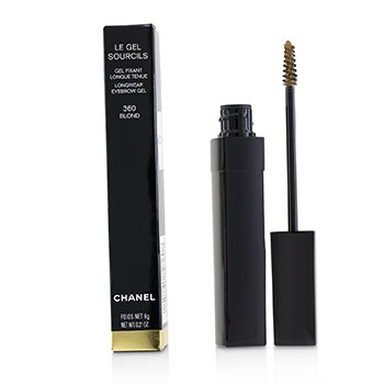 CHANEL LE GEL SOURCILS LONGWEAR EYEBROW GEL - # 360 BLOND  6G/0.21OZ