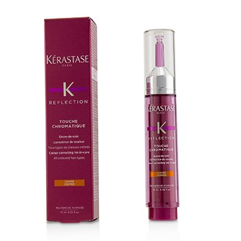 KERASTASE REFLECTION TOUCHE CHROMATIQUE COLOUR CORRECTING INK-IN-CARE - # COPPER (ALL COLOURED HAIR TYPES)  10ML/0.34OZ