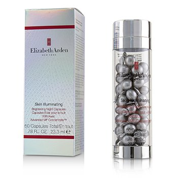 ELIZABETH ARDEN SKIN ILLUMINATING BRIGHTENING NIGHT CAPSULES WITH ADVANCED MI CONCENTRATE  50CAPS