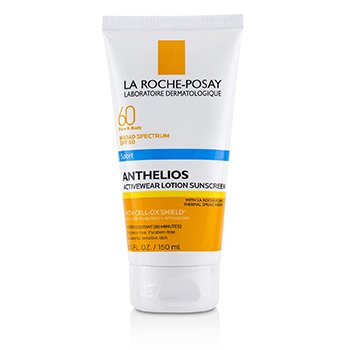 LA ROCHE POSAY ANTHELIOS 60 SPORT ACTIVEWEAR LOTION SUNSCREEN SPF 60  150ML/5OZ