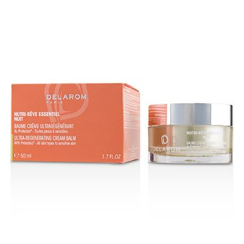 DELAROM NUTRI-REVE ESSENTIEL NUIT ULTRA-REGENERATING CREAM BALM - FOR ALL SKIN TYPES TO SENSITIVE SKIN  50ML/1.7OZ