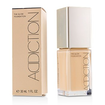 ADDICTION THE GLOW FOUNDATION SPF 20 - # 004 (IVORY ROSE)  30ML/1OZ
