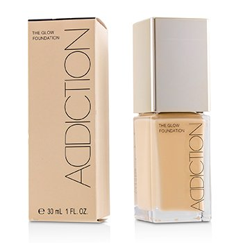 ADDICTION THE GLOW FOUNDATION SPF 20 - # 005 (NUDE IVORY)  30ML/1OZ