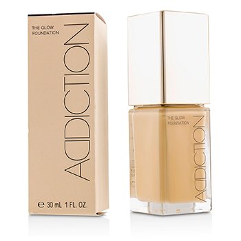 ADDICTION THE GLOW FOUNDATION SPF 20 - # 008 (PURE BEIGE)  30ML/1OZ
