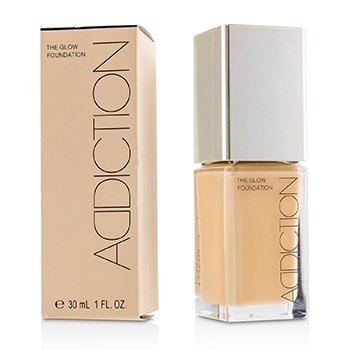 ADDICTION THE GLOW FOUNDATION SPF 20 - # 009 (ROSE BEIGE)  30ML/1OZ