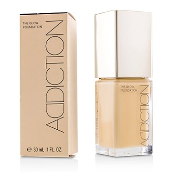 ADDICTION THE GLOW FOUNDATION SPF 20 - # 010 (ALMOND BEIGE)  30ML/1OZ