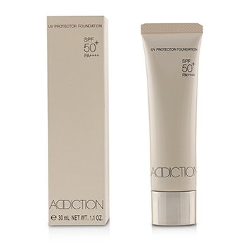 ADDICTION UV PROTECTOR FOUNDATION SPF 50 - # 007 (HONEY BEIGE)  30ML/1.1OZ