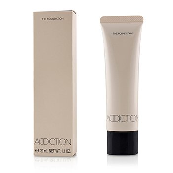 ADDICTION THE FOUNDATION SPF 12 - # 001 (PORCELAIN)  30ML/1.1OZ