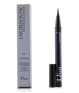 CHRISTIAN DIOR DIORSHOW ON STAGE LINER WATERPROOF - # 296 MATTE BLUE  0.55ML/0.01OZ