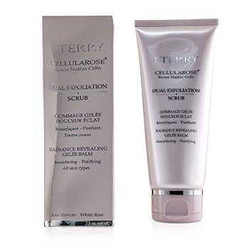 BY TERRY CELLULAROSE DUAL EXFOLIATION SCRUB (BOX SLIGHTLY DAMAGED)  100G/3.5OZ