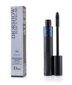 CHRISTIAN DIOR DIORSHOW PUMP N VOLUME WATERPROOF MASCARA - # 090 BLACK PUMP  5.2G/0.18OZ