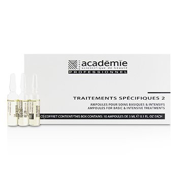 ACADEMIE SPECIFIC TREATMENTS 2 AMPOULES COMPLEXE VITAMINE A&E (OILY YELLOW) - SALON PRODUCT  10X3ML/0.1OZ