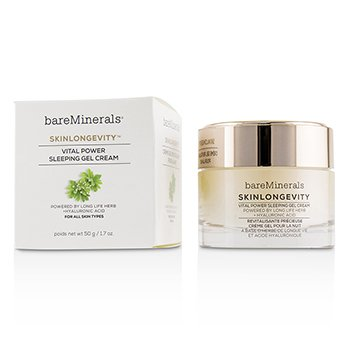 BAREMINERALS SKINLONGEVITY VITAL POWER SLEEPING GEL CREAM  50G/1.7OZ