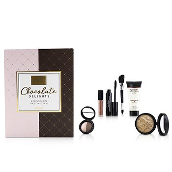 LAURA GELLER CHOCOLATE DELIGHTS 6 PIECE FULL SIZE FACE COLLECTION - # MEDIUM (BOX SLIGHTLY DAMAGED)  6PCS