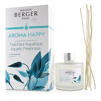 LAMPE BERGER SCENTED BOUQUET - AROMA HAPPY (EUGENIA)  180ML/6.08OZ