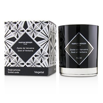 LAMPE BERGER GRAPHIC CANDLE - ZEST OF VERBENA  210G/7.4OZ