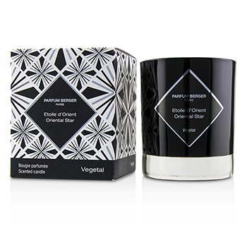 LAMPE BERGER GRAPHIC CANDLE - ORIENTAL STAR  210G/7.4OZ