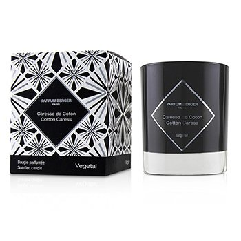 LAMPE BERGER GRAPHIC CANDLE - COTTON CARESS  210G/7.4OZ