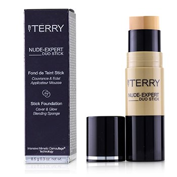 BY TERRY NUDE EXPERT DUO STICK FOUNDATION - # 9 HONEY BEIGE  8.5G/0.3OZ