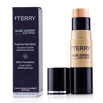 BY TERRY NUDE EXPERT DUO STICK FOUNDATION - # 10 GOLDEN SAND  8.5G/0.3OZ