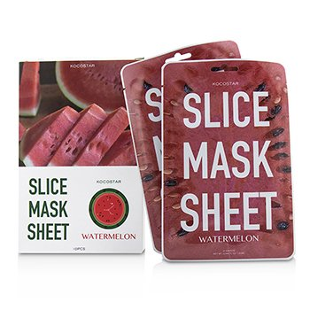 KOCOSTAR SLICE MASK SHEET - WATERMELON  10SHEETS