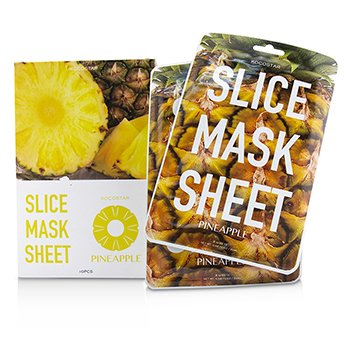 KOCOSTAR SLICE MASK SHEET - PINEAPPLE  10SHEETS