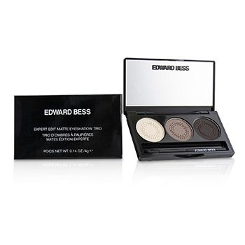 EDWARD BESS EXPERT EDIT MATTE EYESHADOW TRIO - # COCOA SUBLIME  4G/0.14OZ