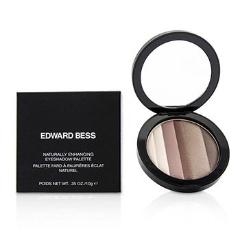 EDWARD BESS NATURAL ENHANCING EYESHADOW PALETTE - # EARTH TONES  10G/0.35OZ