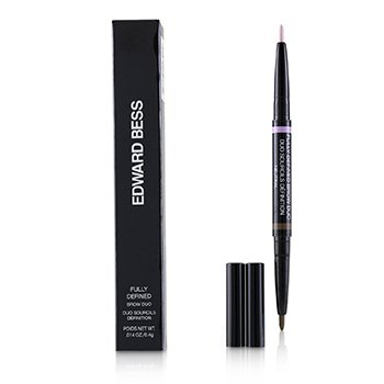 EDWARD BESS FULLY DEFINED BROW DUO - # 01 NEUTRAL  0.4G/0.014OZ