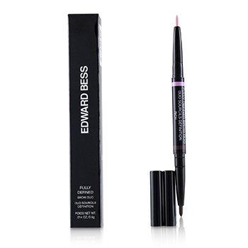 EDWARD BESS FULLY DEFINED BROW DUO - # 02 RICH  0.4G/0.014OZ