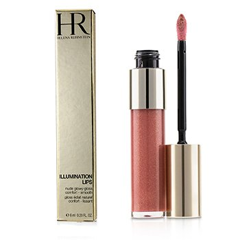 HELENA RUBINSTEIN ILLUMINATION LIPS NUDE GLOWY GLOSS - # 05 ROSEWOOD NUDE  6ML/0.2OZ