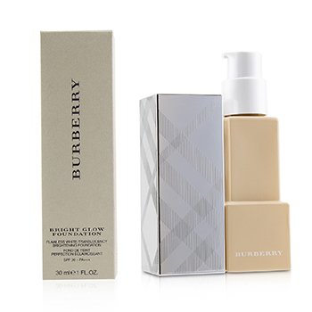 BURBERRY BRIGHT GLOW FLAWLESS WHITE TRANSLUCENCY BRIGHTENING FOUNDATION SPF 30 - # NO. 12 OCHRE NUDE  30ML/1OZ