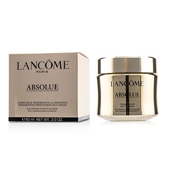 LANCOME ABSOLUE CREME RICHE REGENERATING BRIGHTENING RICH CREAM  60ML/2OZ