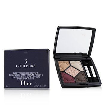 CHRISTIAN DIOR 5 COULEURS HIGH FIDELITY COLORS & EFFECTS EYESHADOW PALETTE - # 777 EXALT MATTE  7G/0.24OZ