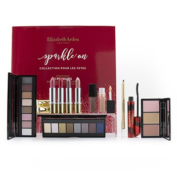ELIZABETH ARDEN SPARKLE ON HOLIDAY COLLECTION  11PCS+1BAG