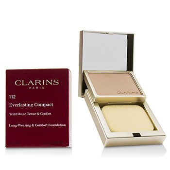 CLARINS EVERLASTING COMPACT FOUNDATION - # 112 AMBER  10G/0.3OZ