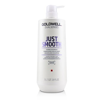 GOLDWELL DUAL SENSES JUST SMOOTH TAMING SHAMPOO (CONTROL FOR UNRULY HAIR)  1000ML/33.8OZ