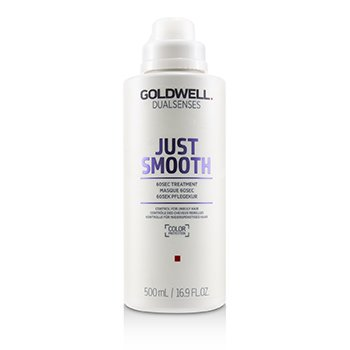 GOLDWELL DUAL SENSES JUST SMOOTH 60SEC TREATMENT (CONTROL FOR UNRULY HAIR)  500ML/16.9OZ