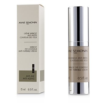 ANNE SEMONIN MIRACLE EYE CONTOUR ANTI-WRINKLE CREAM  15ML/0.5OZ