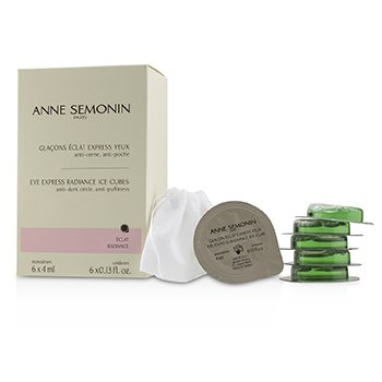 ANNE SEMONIN EYE EXPRESS RADIANCE ICE CUBES  6X4ML/0.13OZ