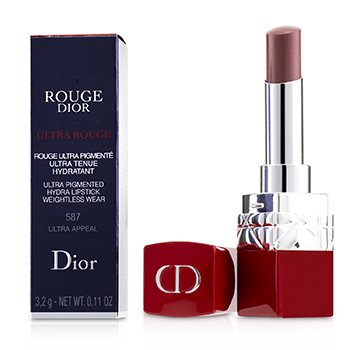 CHRISTIAN DIOR ROUGE DIOR ULTRA ROUGE - # 587 ULTRA APPEAL  3.2G/0.11OZ