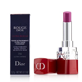 CHRISTIAN DIOR ROUGE DIOR ULTRA ROUGE - # 755 ULTRA DARING  3.2G/0.11OZ