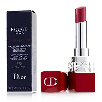 CHRISTIAN DIOR ROUGE DIOR ULTRA ROUGE - # 770 ULTRA LOVE  3.2G/0.11OZ