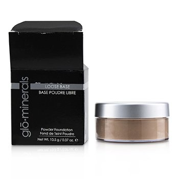 GLOMINERALS GLOLOOSE BASE (POWDER FOUNDATION) - NATURAL DARK (BOX SLIGHTLY DAMAGED)  10.5G/0.37OZ